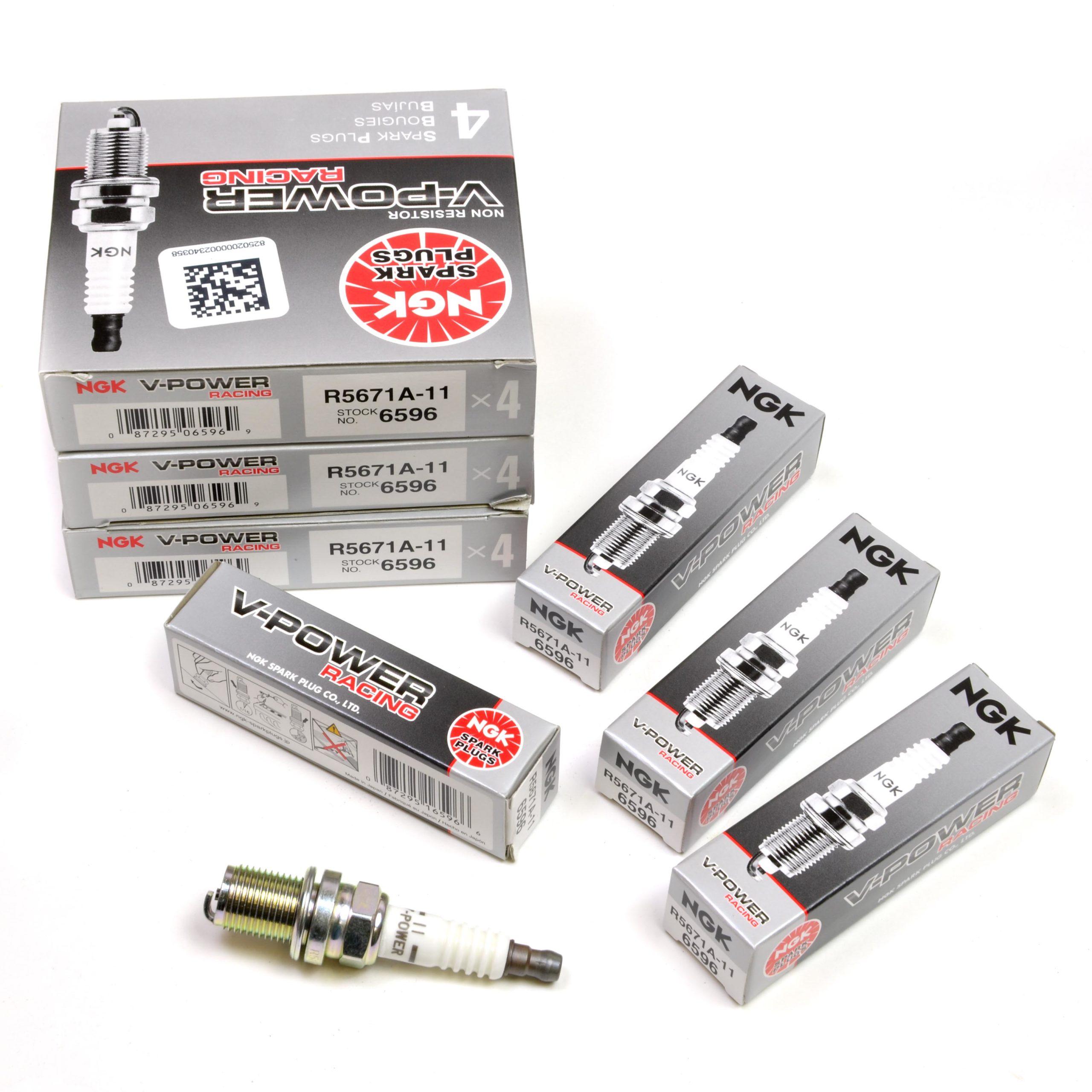 spark r5671a 11 1 scaled - Свеча зажигания NGK R5671A-11
